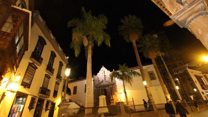 En la imagen, Plaza de España de Santa Cruz de La Palma.