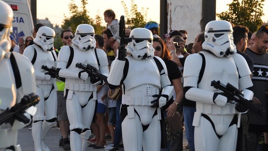 Soldados de la Legión 501 de Darth Vader