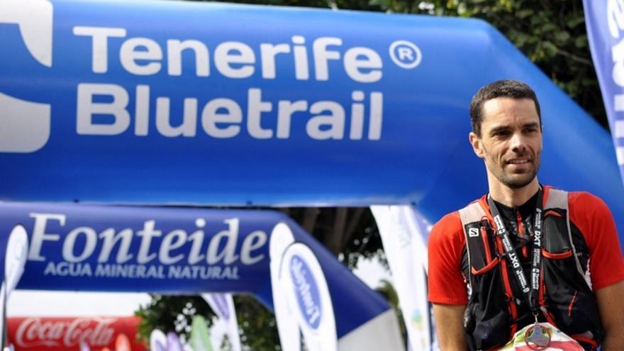 Carlos Pascual, vencedor en la Ultra en la modalidad masculina  / Foto del Cabildo de Tenerife
