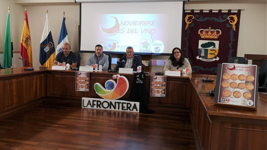 Noviembre, mes del vino en La Frontera