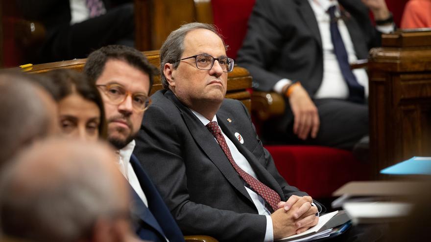 """Torra mantiene su oferta de diálogo a Sánchez aunque """"la respuesta siempre es no"""""""