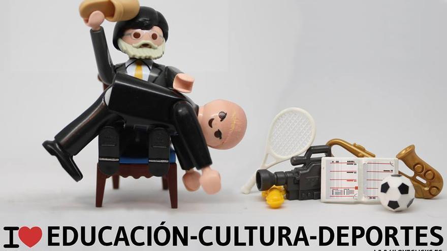 I love Educación-Cultura-Deporte