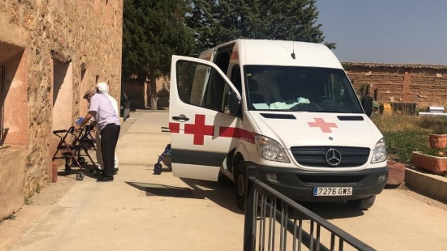 Centro para contagiados en Gea de Albarracín (Teruel).