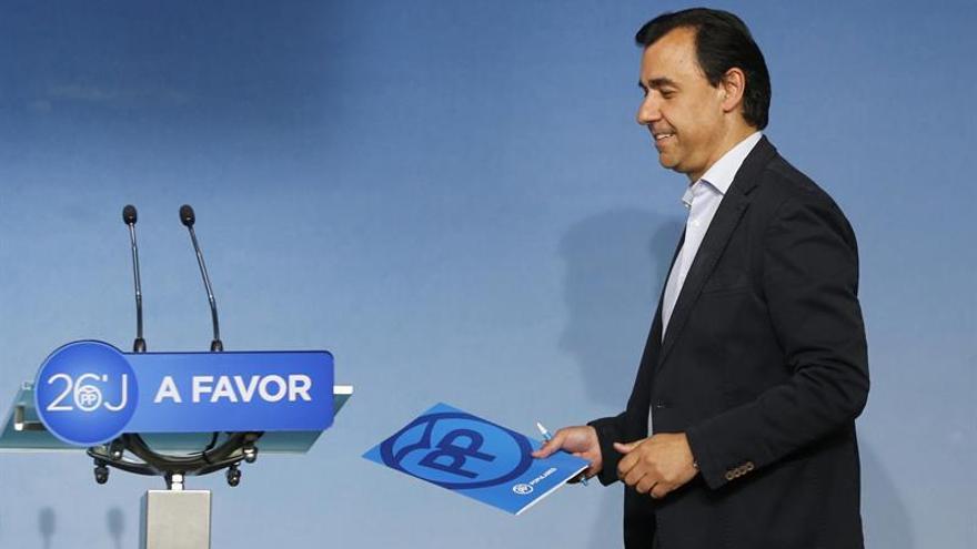 El PP acusa al PSOE de querer la investidura fallida de Rajoy y de que no haya gobierno