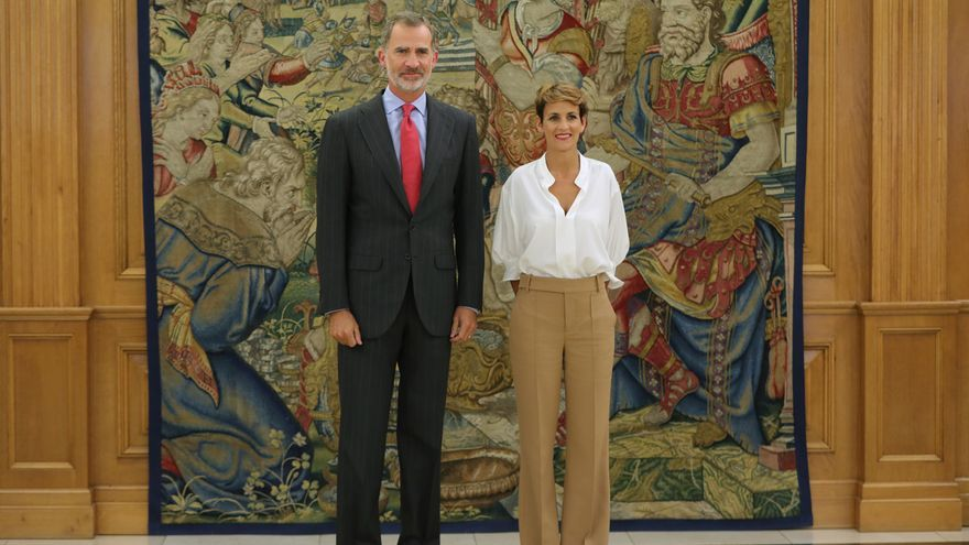 El PSN se abstiene en una moción para que el Gobierno navarro invite a los Reyes a los Premios Príncipe de Viana