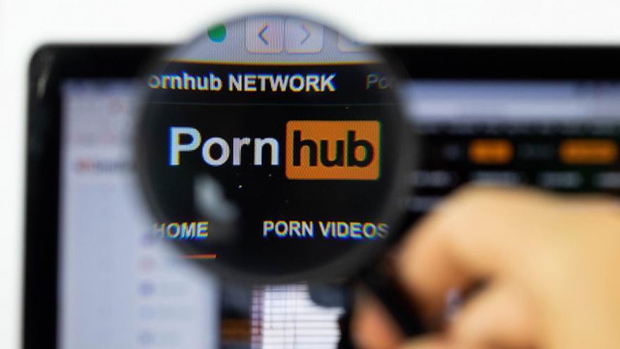 Pornhub, una página porno