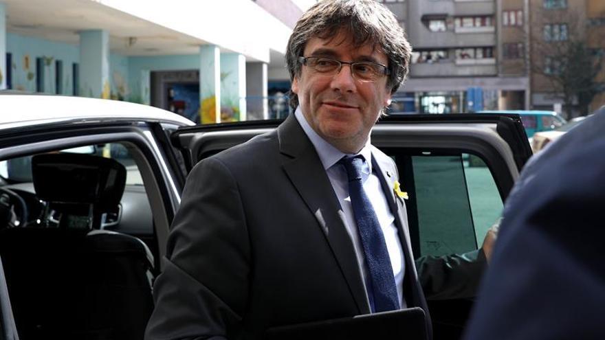 """La justicia alemania descarta una """"motivación política"""" en los cargos contra Puigdemont"""