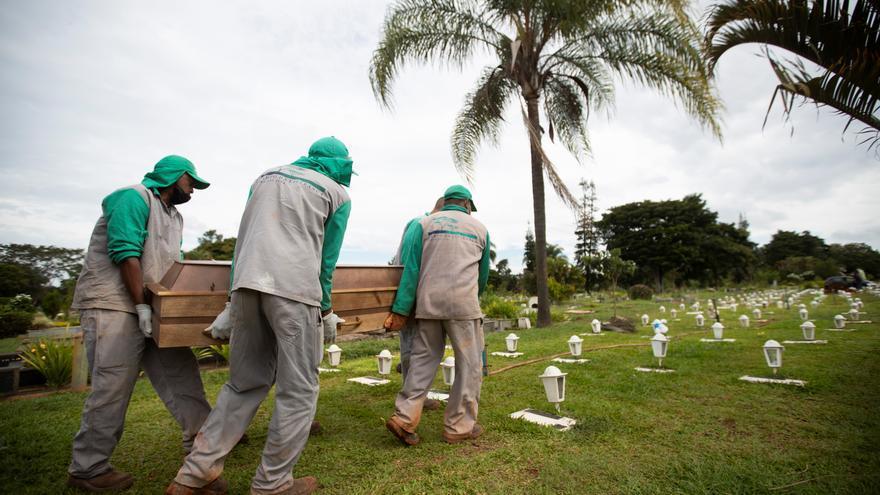 Brasil supera las 485.000 muertes de covid-19 en quince meses de pandemia