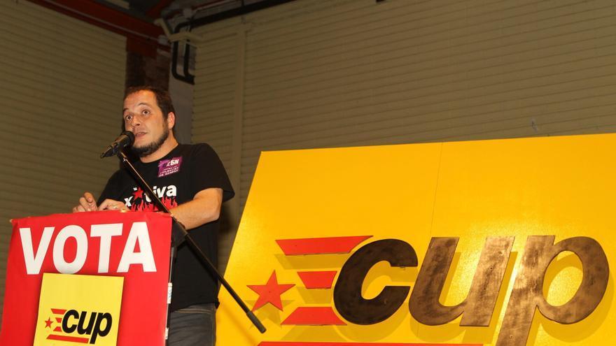 El periodista David Fernández, cabeza de lista de la CUP por Barcelona / EFE