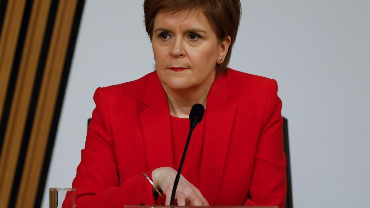 La ministra principal de Escocia, Nicola Sturgeon. EFE/EPA/Andrew Cowan HANDOUT