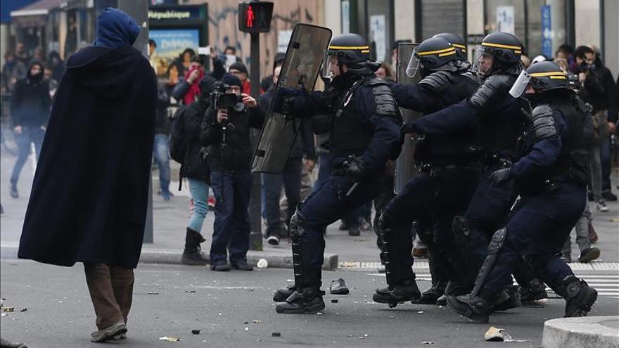 La manifestación violenta de París se saldó con 341 detenciones