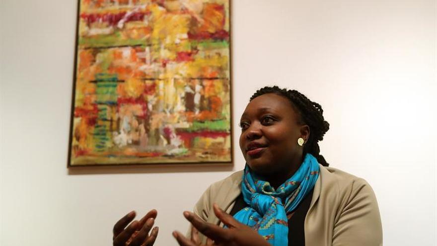 Líder afrocolombiana cree que no se puede hablar de paz con el estómago vacío