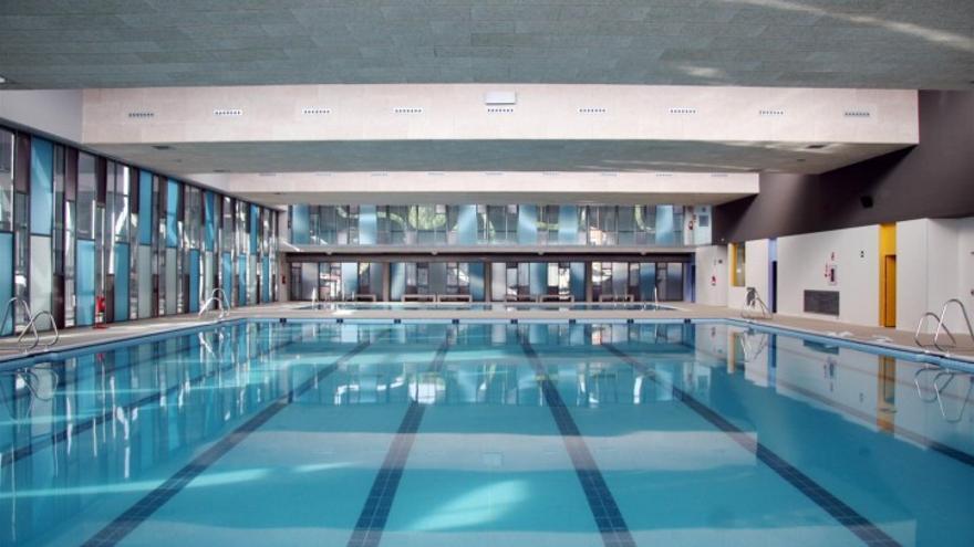 La piscina del polideportivo de Malilla, en Valencia.