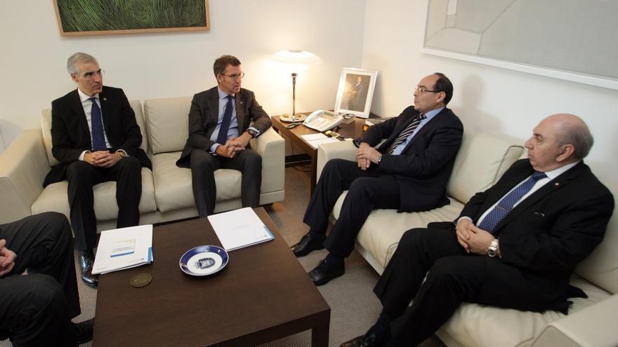 El embajador de Paraguay y Feijóo analizan las oportunidades de una mayor relación entre Galicia y el país sudamericano
