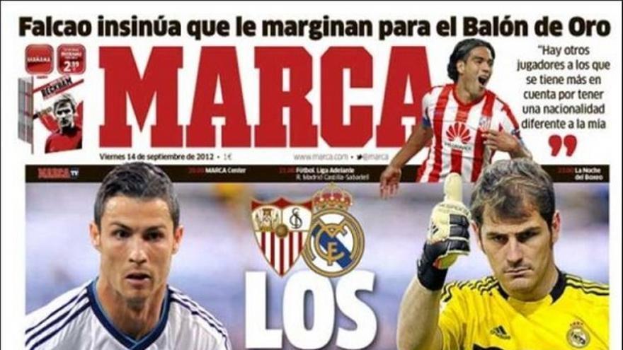 De las portadas del día (14/09/2012) #13