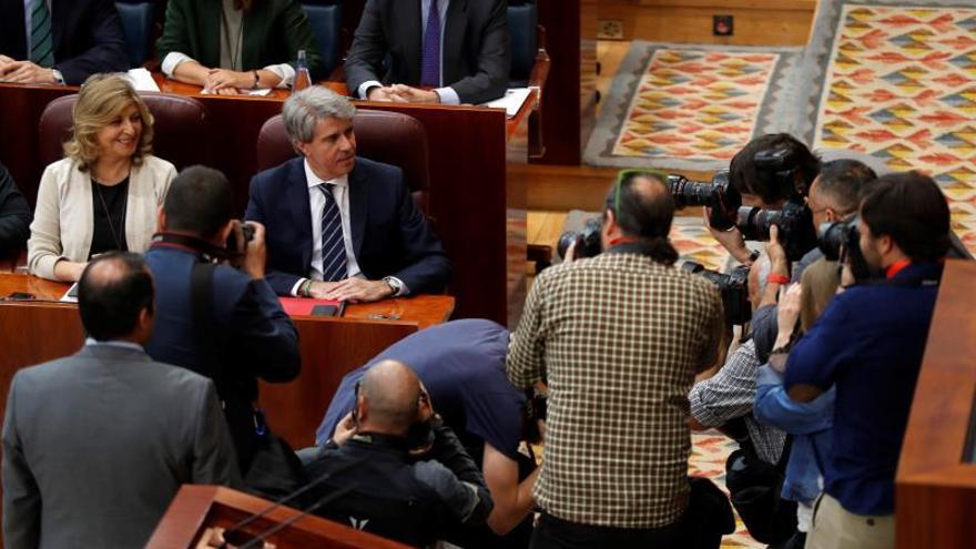 """Garrido destaca el legado de Cifuentes y avisa de que queda un año """"crucial"""""""