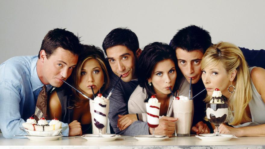 """La cena secreta de los protagonistas de 'Friends': """"Reímos sin parar"""""""