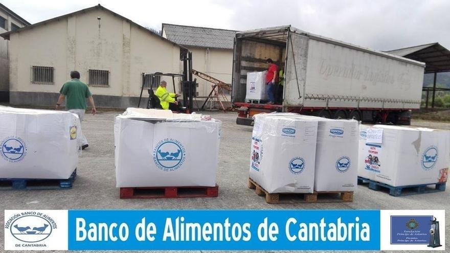 Cantabria envía 14.750 kilos de comida a refugiados sirios del Líbano