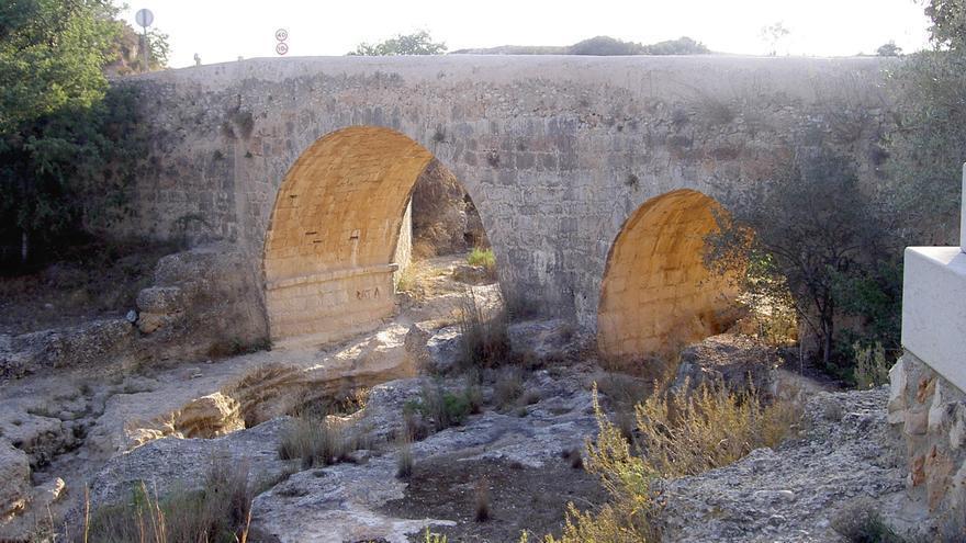 Pont del Olivar sobre el río Cenia. Imagen cedida por la mancomunidad de la Taula del Sénia.