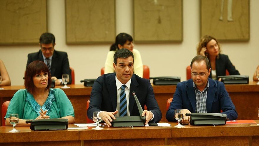 La presidenta del PSOE no cree que haya problema de comunicación entre Sánchez y los 'barones'
