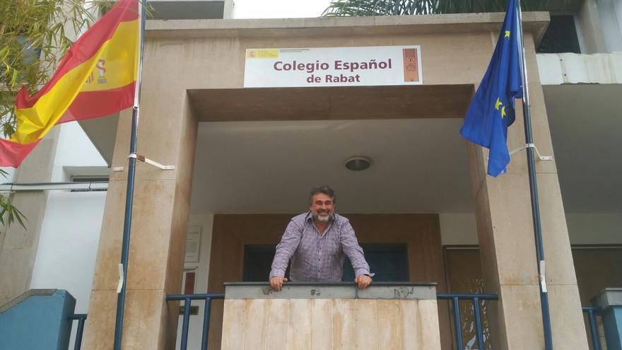 Ricardo trabaja en el colegio española de Rabat