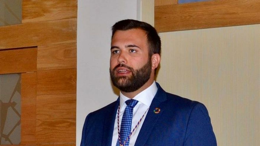 Luis Salaya (PSOE), alcalde de Cáceres gracias a la abstención de Ciudadanos