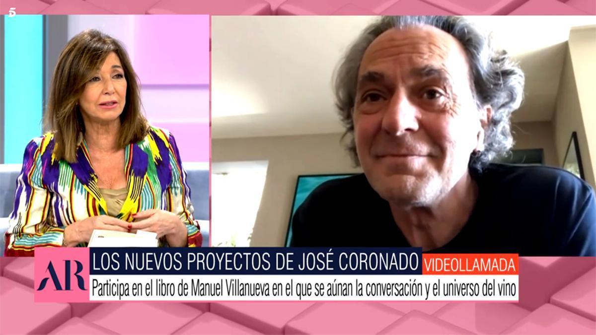 Ana Rosa Quintana y José Coronado