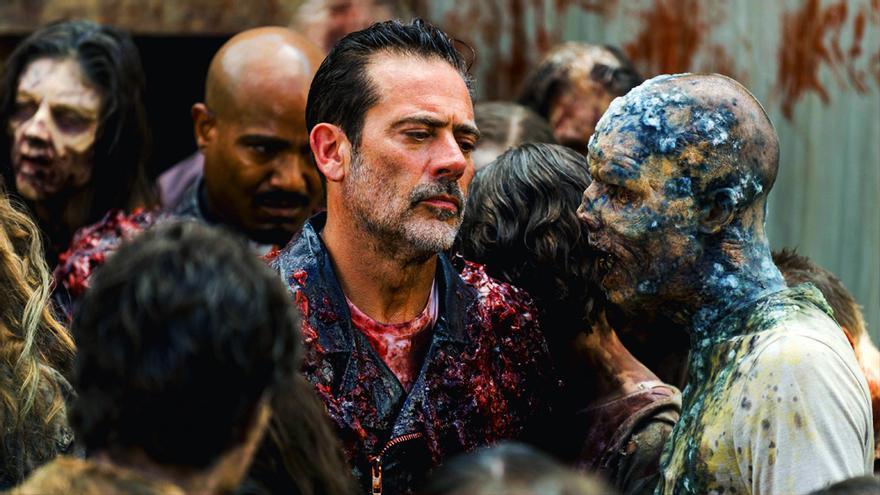 """Jeffrey Dean Morgan en """"The Walking Dead"""""""