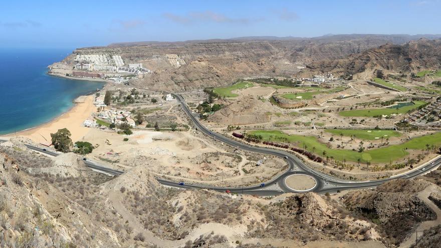 Vista panorámica de Tauro, en el municipio grancanario de Mogán. (ALEJANDRO RAMOS)