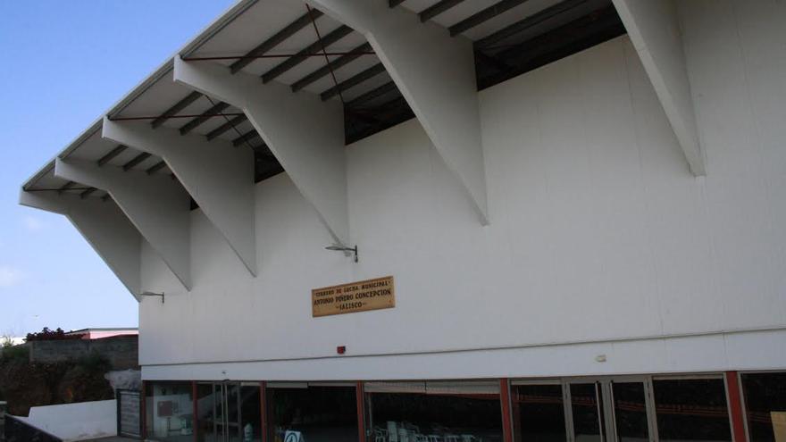 Exterior del terrero de lucha Antonio Piñero Concepción Jalisco de Mirca.
