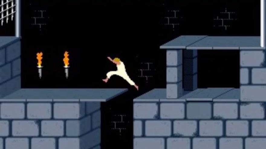 Fotograma del videojuego 'Prince of Persia' (1989)