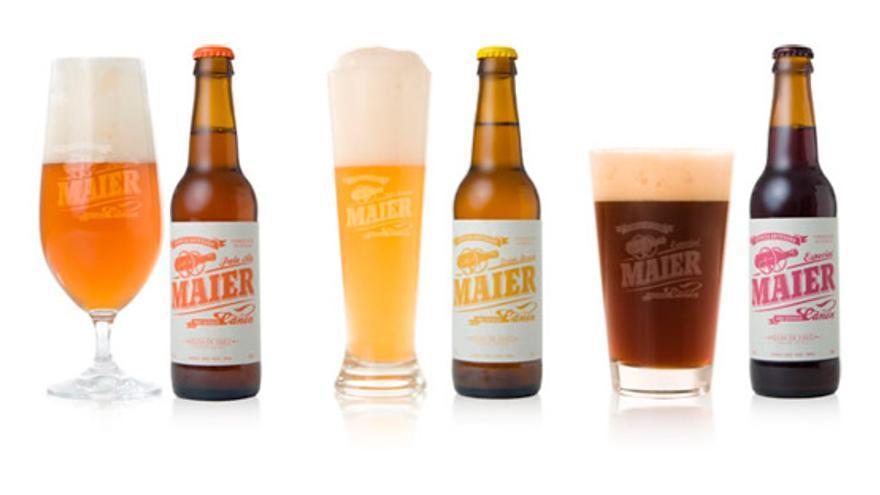 Cerveza Maier.