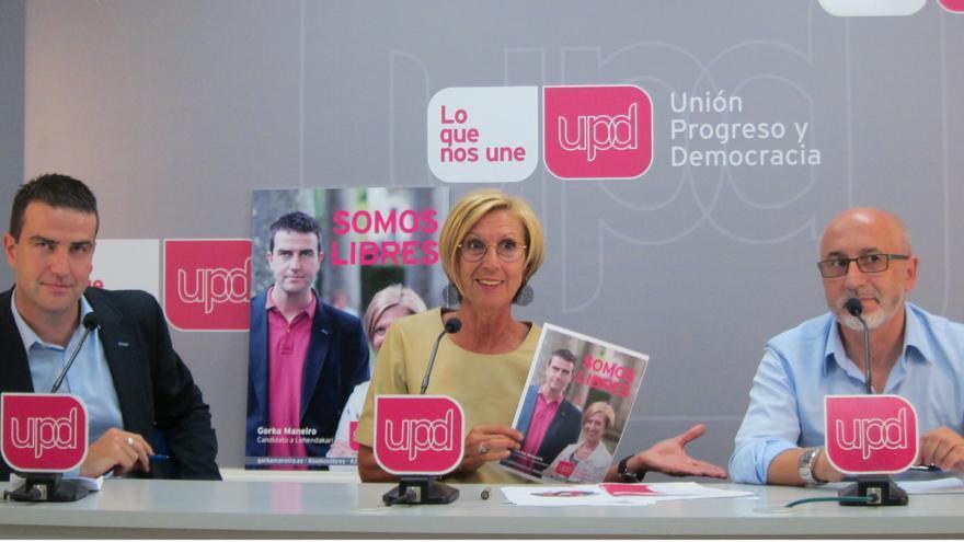 """'Somos libres', lema de UPyD para unas elecciones en las que llama al """"libre albedrío"""" y la """"resistencia"""""""