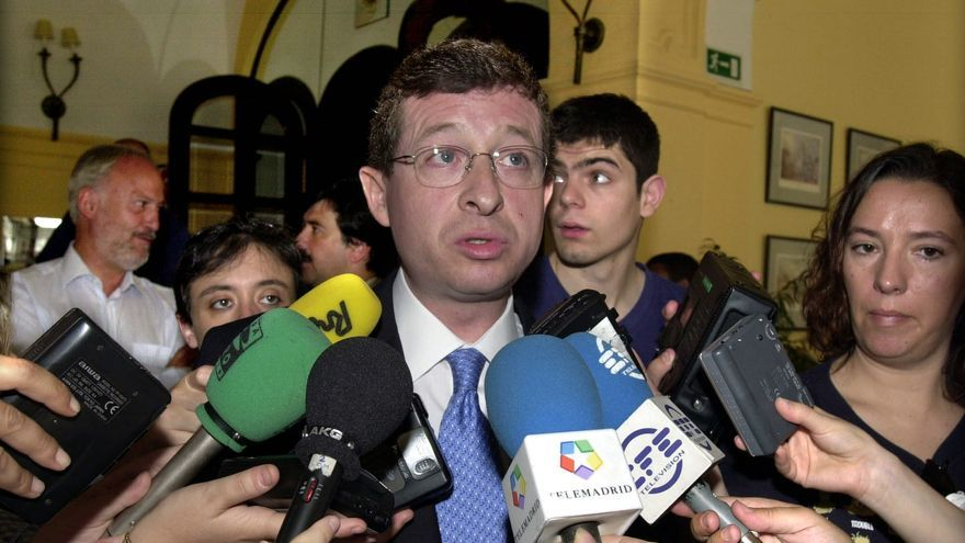 Jesús Pedroche, en una fotografía de archivo (2001) / Gustavo Cuevas (EFE)