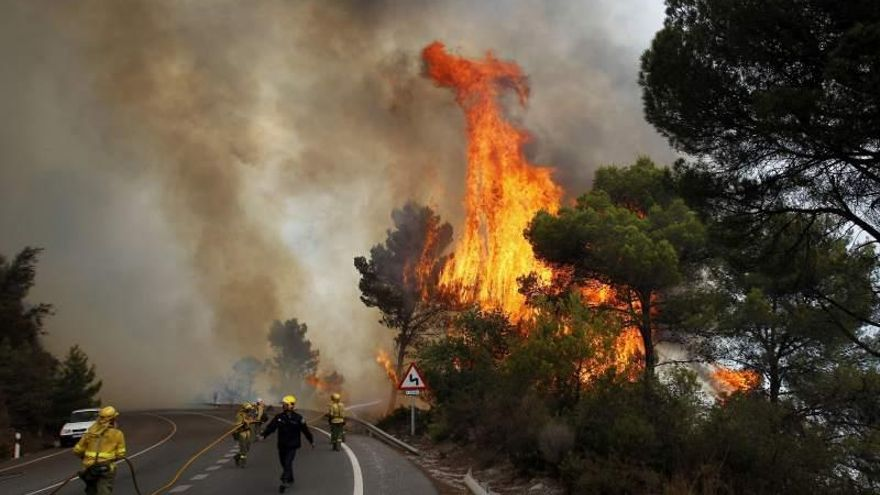 Bombero forestal Infoex Extremadura
