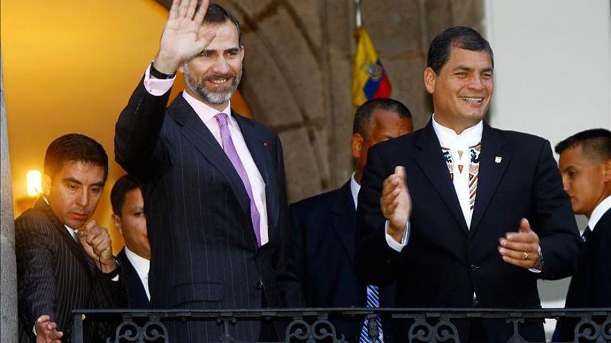 El presidente de Ecuador jura su nuevo mandato