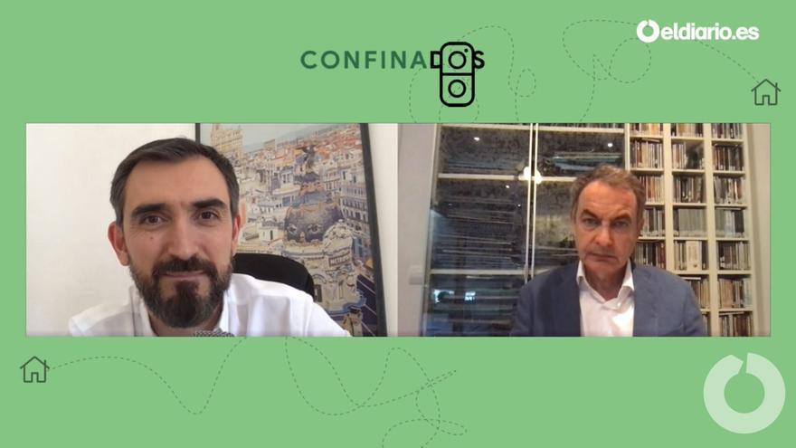 Ignacio Escolar entrevista al expresidente José Luis Rodríguez Zapatero.