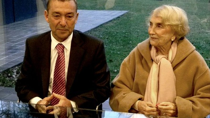 Paulino Rivero fue al País Vasco a firmar el acuerdo. (ACFI PRESS)
