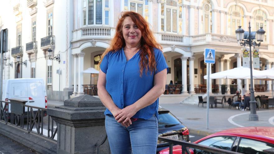 Viviana de Sans, candidata de Podemos a la presidencia del Consell de Ibiza