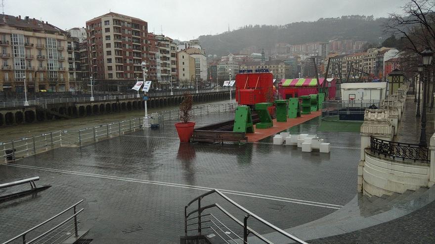 Euskadi activa el aviso amarillo este domingo y el lunes por lluvias persistentes