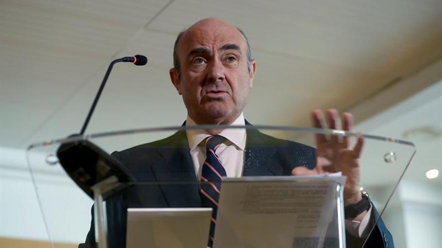 De Guindos comparecerá ante eurodiputados para abordar su candidatura al BCE