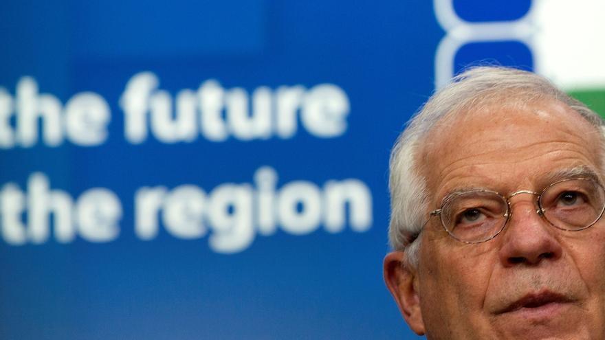 En la imagen el alto representante de la Unión Europea (UE) para Asuntos Exteriores, Josep Borrell.