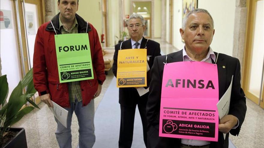 El Congreso se compromete a buscar una compensación a los afectados de Fórum