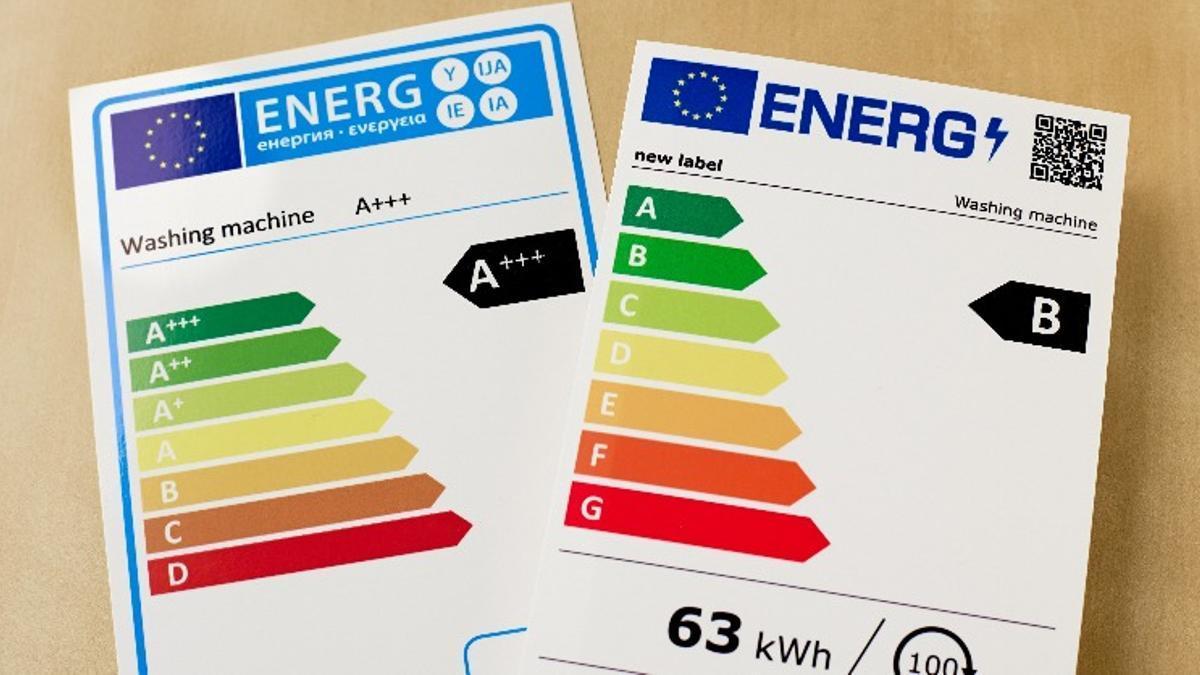 El antes y el después del etiquetado energético en la UE desde el 1 de marzo de 2021.