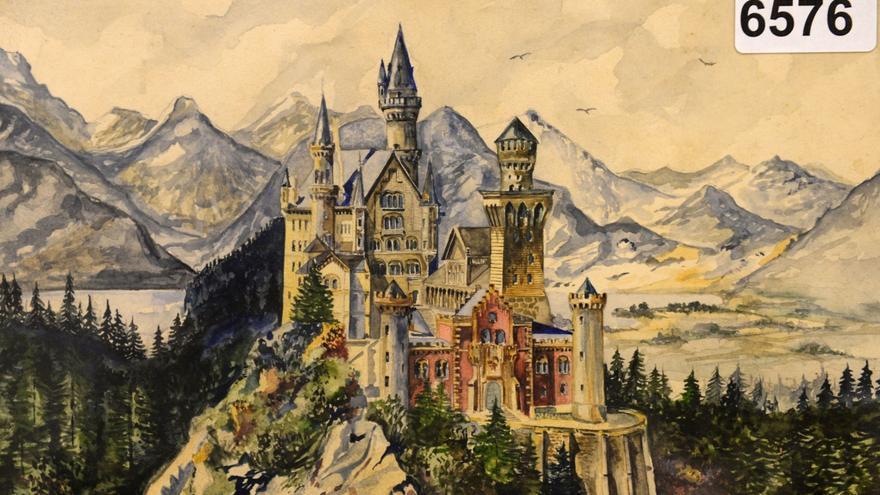 Castillo de Neuschwanstein, Adolf Hitler