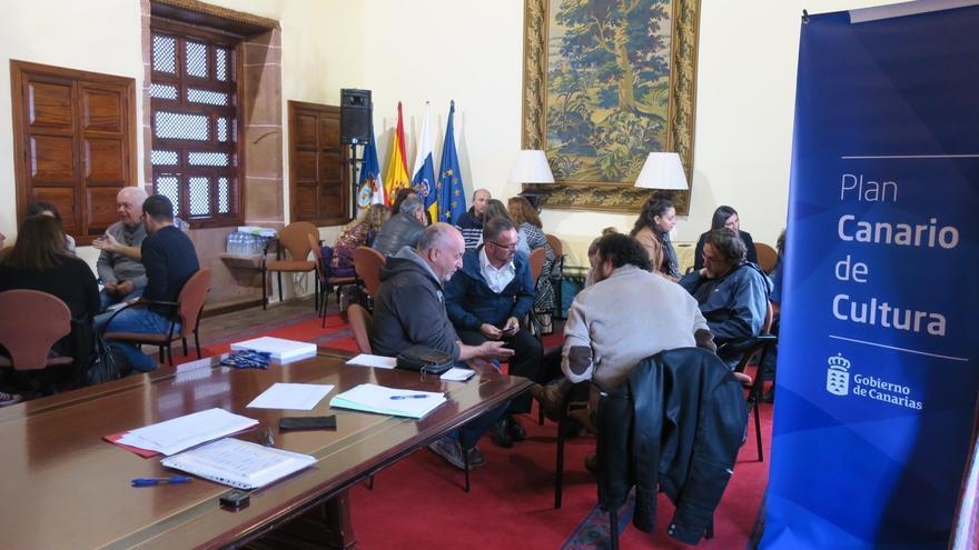 Reunión para la revisión del Plan Canario de Cultura celebra en la Casa Salazar de Santa Cruz de La Palma este lunes, 13 de febrero,