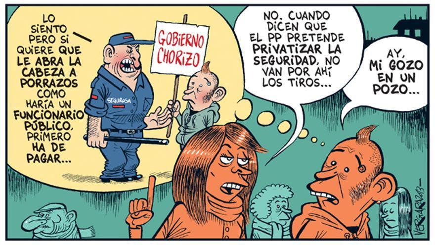Privatizar la seguridad