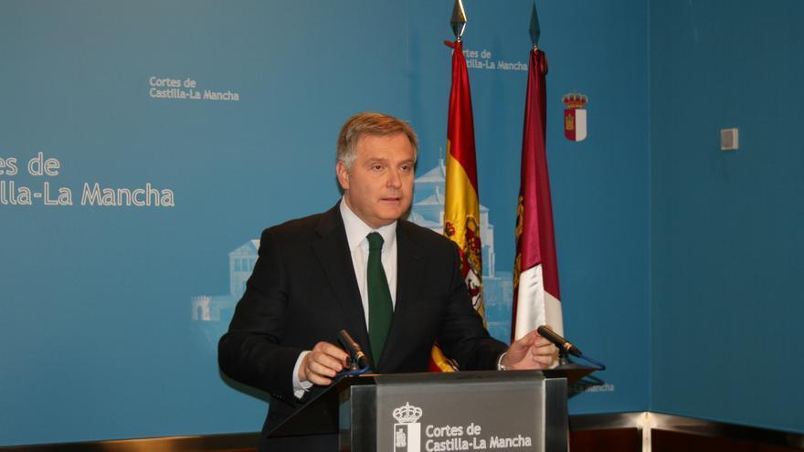 El portavoz del Grupo Parlamentario Popular, Francisco Cañizares