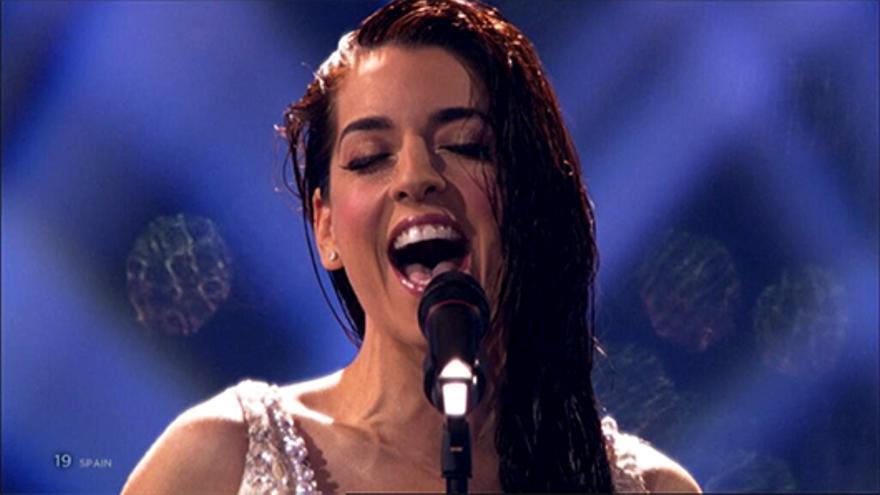 Una gran Ruth Lorenzo devuelve a España al top 10 de Eurovisión