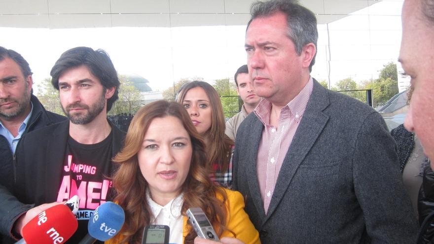 La dirigente del PSOE sevillano Verónica Pérez comparecerá a las 10.00 ante la sede de Ferraz